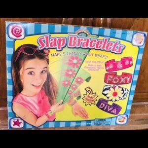 New Slap Bracelet Kit Crafts 5 Wrist Wraps